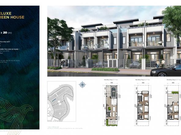05,5 x 20 m TH.07 - Nhà phố - Deluxe Green House
