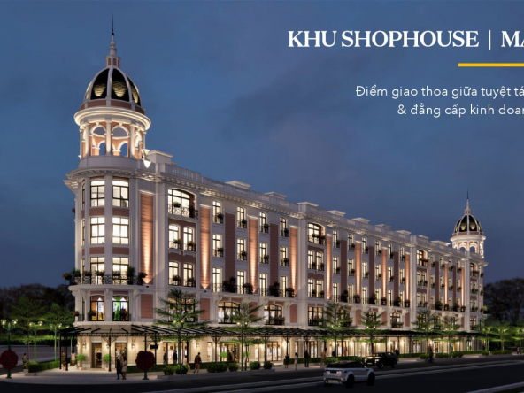 Khu Shophouse Marina